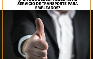 transporte para empleados