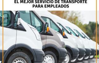 servicio de transporte para empleados